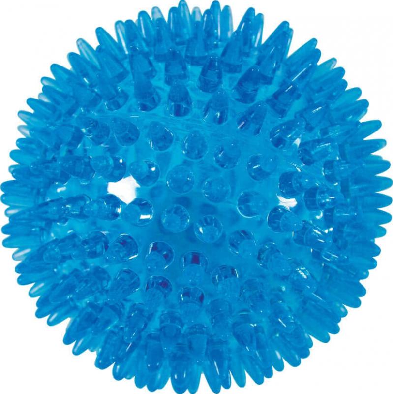Balle à picots TPR Pop bleu