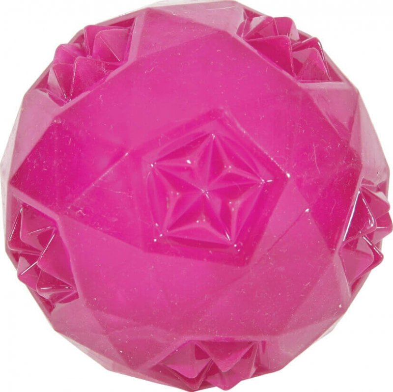Balle sonore TPR Pop rose