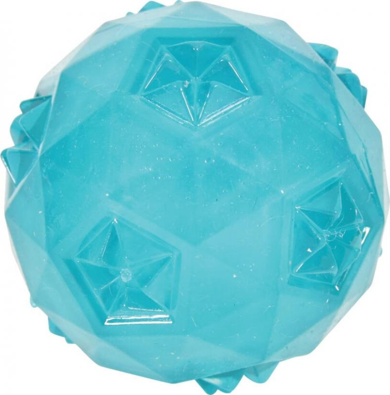 Balle sonore TPR Pop bleue