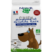 NESTOR BIO Croquettes BIO pour chien Moyennes et grandes races