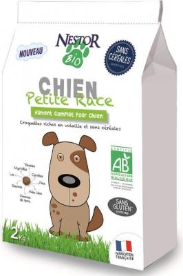 NESTOR BIO Croquettes BIO Sans Céréales pour chiens de petites races