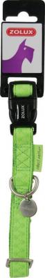 Collier réglable Mac Leather vert anis