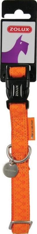 Collier réglable Mac Leather Orange
