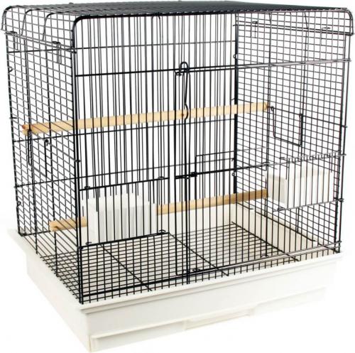Cage ZOLIA Téoss pour oiseaux exotiques et canaris - h61 cm