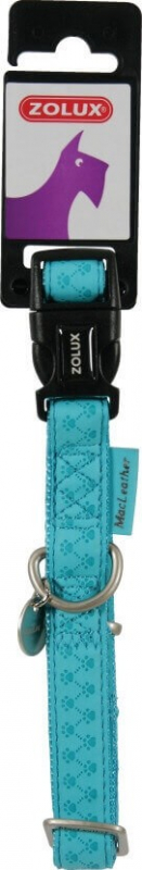 Collier réglable Mac Leather Turquoise