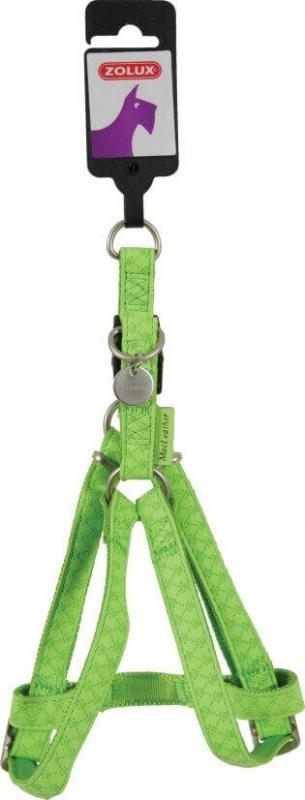 Harnais réglable Mac Leather vert anis