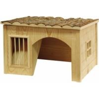 Maison pour rongeurs Nature avec râtelier (2)