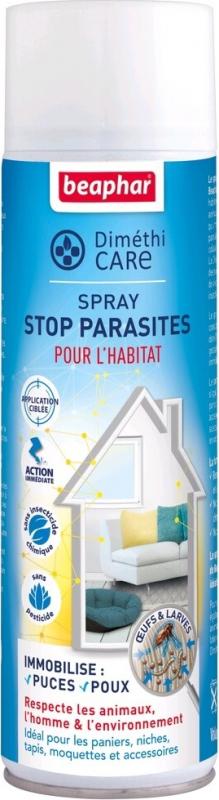 DiméthiCARE, spray stop parasites pour l'habitat