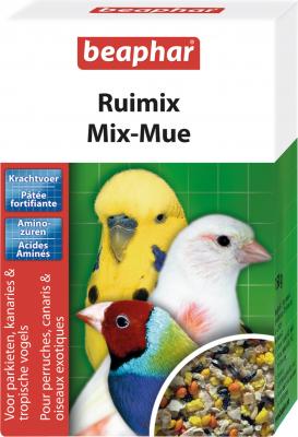 Mix-muda, paté fortificante para periquitos, canarios y pájaros exóticos