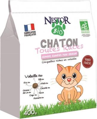 NESTOR BIO Croquettes BIO pour chaton