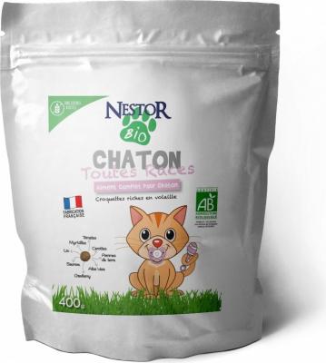 Croquettes Nestor pour chaton