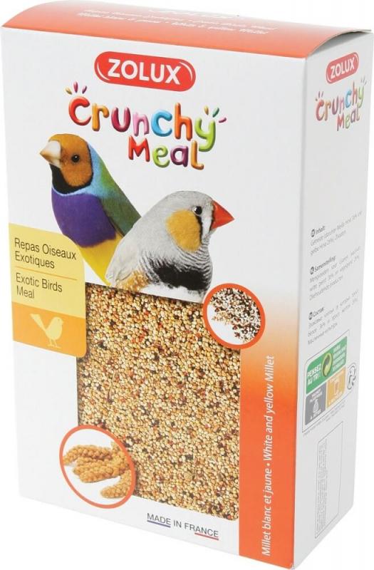 Crunchy Meal repas complet pour oiseaux exotiques