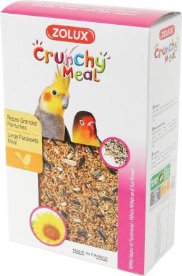 Crunchy Meal Komplettfutter für Großsittiche