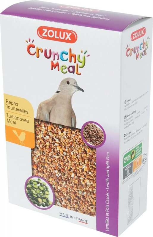 Crunchy Meal comida completa para tórtolas