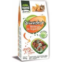 Friandises Crunchy's mélange de légumes