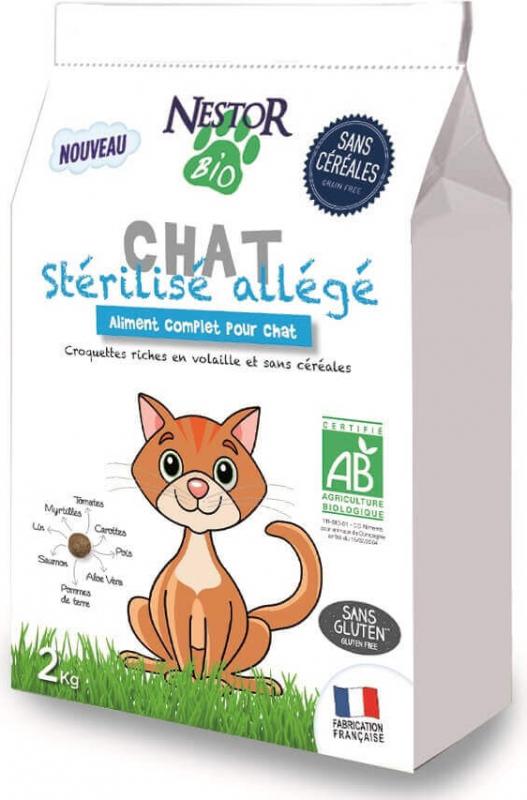 NESTOR BIO Sans Céréales pour chat stérilisé