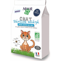 NESTOR BIO Croquettes BIO Sans Céréales pour chat stérilisé