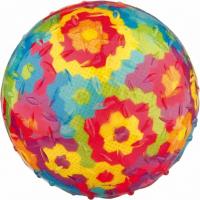 Balle multicolore pour chien TPR