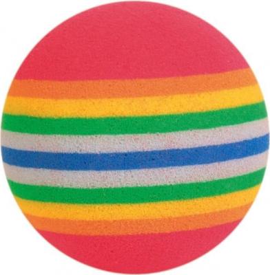 Balles arc-en-ciel chat (x4)