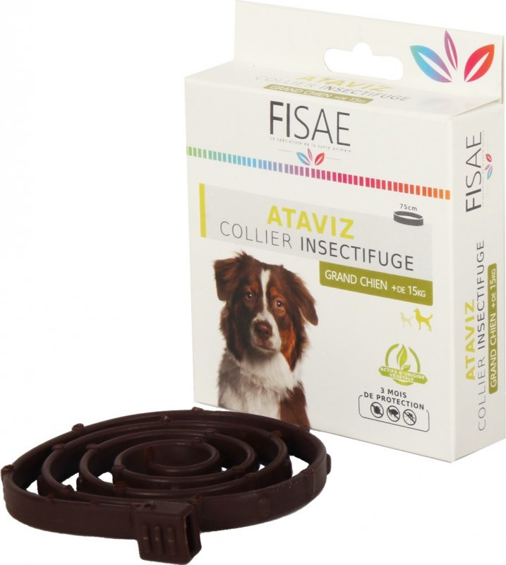 Collier Insectifuge Chien FISAE ATAVIZ