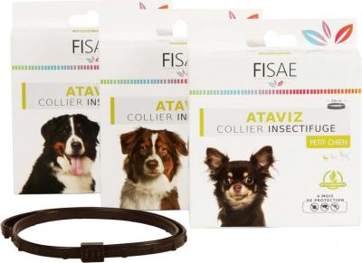 Insektenschultzhalsband für Hunde FISAE ATAVIZ