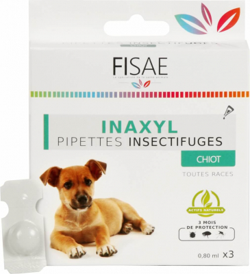 Pipette Insectifuge chiot FISAE INAXYL