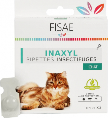 Pipette Insectifuge chat FISAE INAXYL