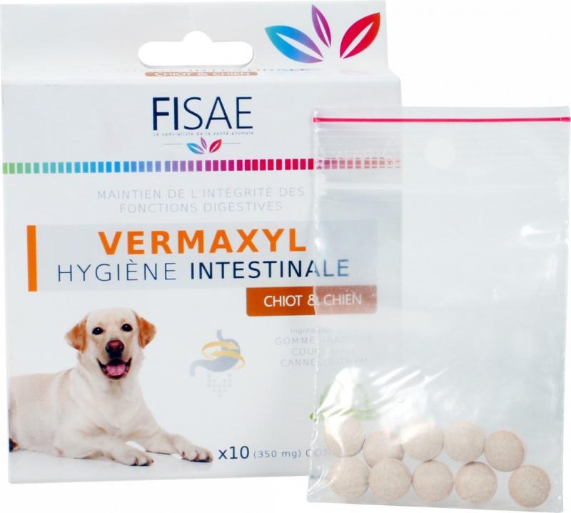 Darm-Hygiene für mittelgroße bis große Hunde FISAE VERMAXYL