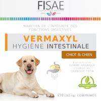 Hygiène intestinale chiot / chien FISAE VERMAXYL - Label Eco-Cert