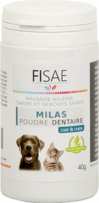 Poudre Dentaire FISAE MILAS pour chien et chat