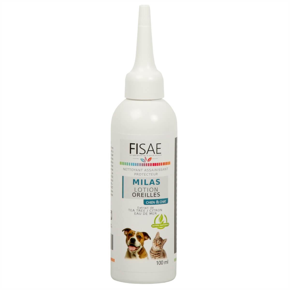 Ohrenlotion FISAE MILAS für Hunde und Katzen_0