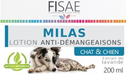 Lotion anti-démangeaisons FISAE MILAS