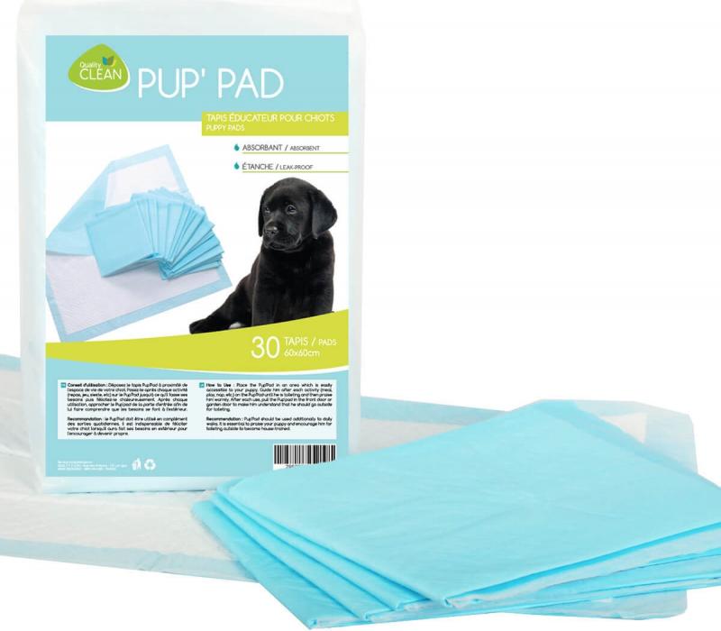 Tapis éducateur x30 Pup' Pad grande absorption pour chien