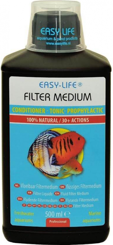 EASY LIFE Filter Medium acondicionador de agua completo