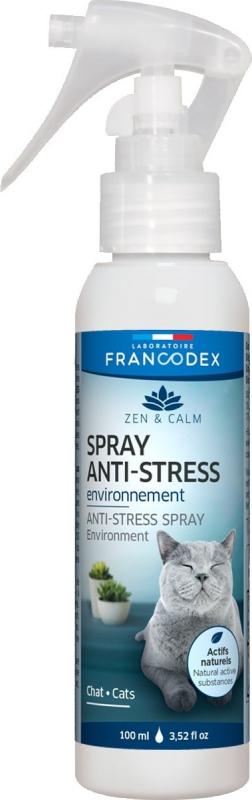 Francodex Zen et Calm Spray anti-stress chat et chaton