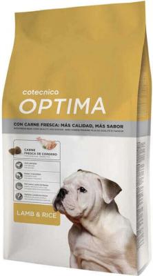 Optima Cordero y Arroz 25/14 para perro adulto
