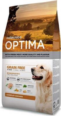 OPTIMA Sans céréales Poulet chien adulte