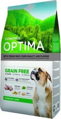 OPTIMA Sans céréales Agneau chien adulte