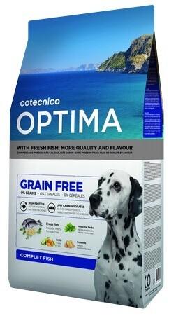 OPTIMA Sans céréales Poisson chien adulte_0