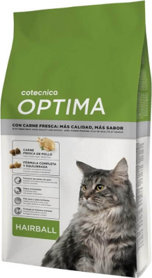 OPTIMA Hairball pour chat adulte