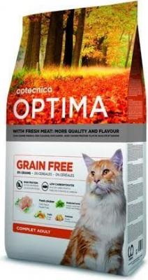 OPTIMA Sans Céréales complet pour chat adulte
