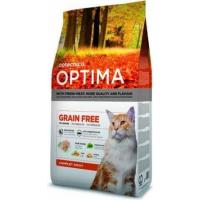 OPTIMA Sin Cereales completo para gatos adultos