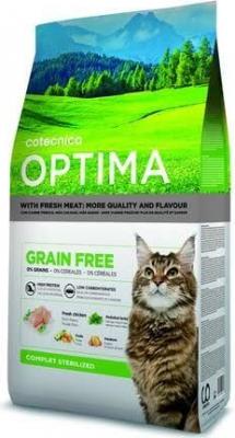 OPTIMA Sin cereales completo para gato esterilizado