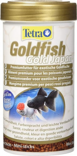 Tetra goldfish gold japan nourriture en granul s for Goldfish nourriture