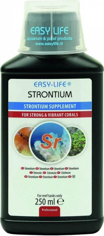Strontium EASY-LIFE supplément concentré pour la croissance des coraux