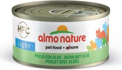 Pâtée Almo HFC light pour chat