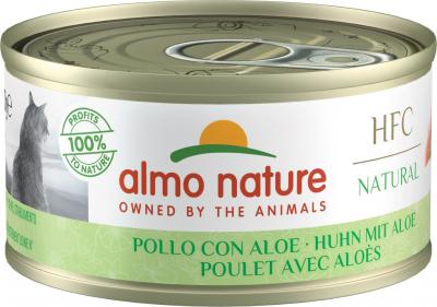 Pâtée Almo Nature HFC Natural pour chat - 2 saveurs au choix