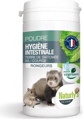 Naturly's Hygiène Intestinale pour rongeurs