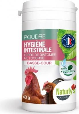 Naturly's Higiene Intestinal para aves de corral