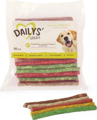 50 Friandises de couleur DAILYS pour chiens